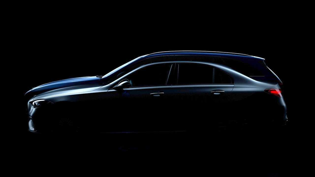 Mercedes C-osztály (2021) teaser