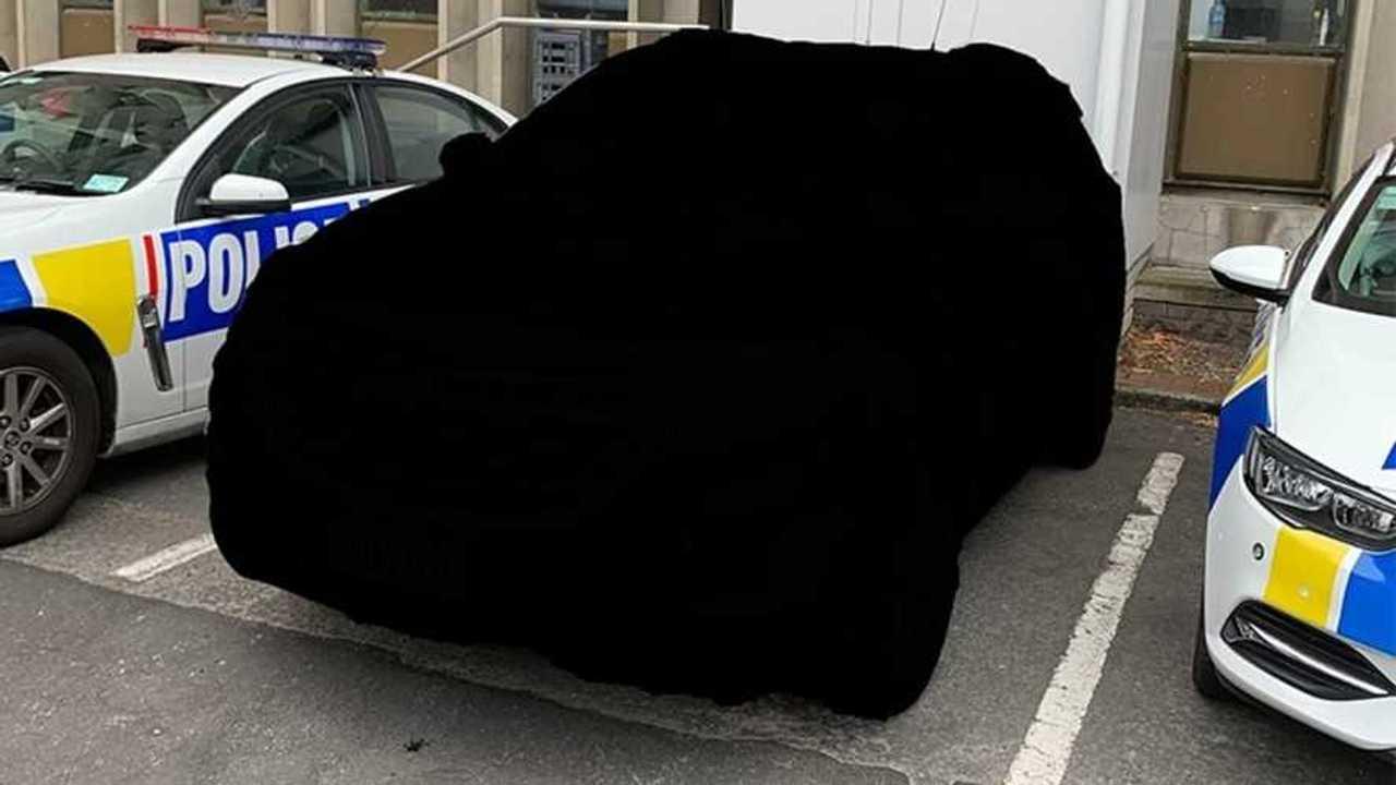 Holden Equinox Unmarked New Zealand Police Vehicle