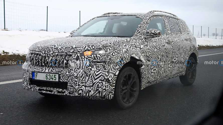 2021 Skoda Kushaq spied in Europe looking ready for production