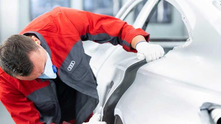 Audi E-Tron GT Teased
