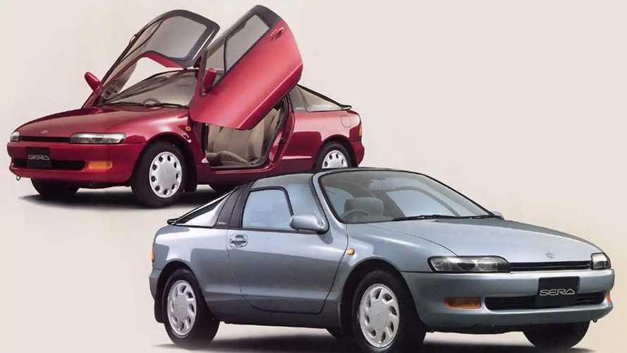 Toyota AXV-II (1987) y Sera (1990)