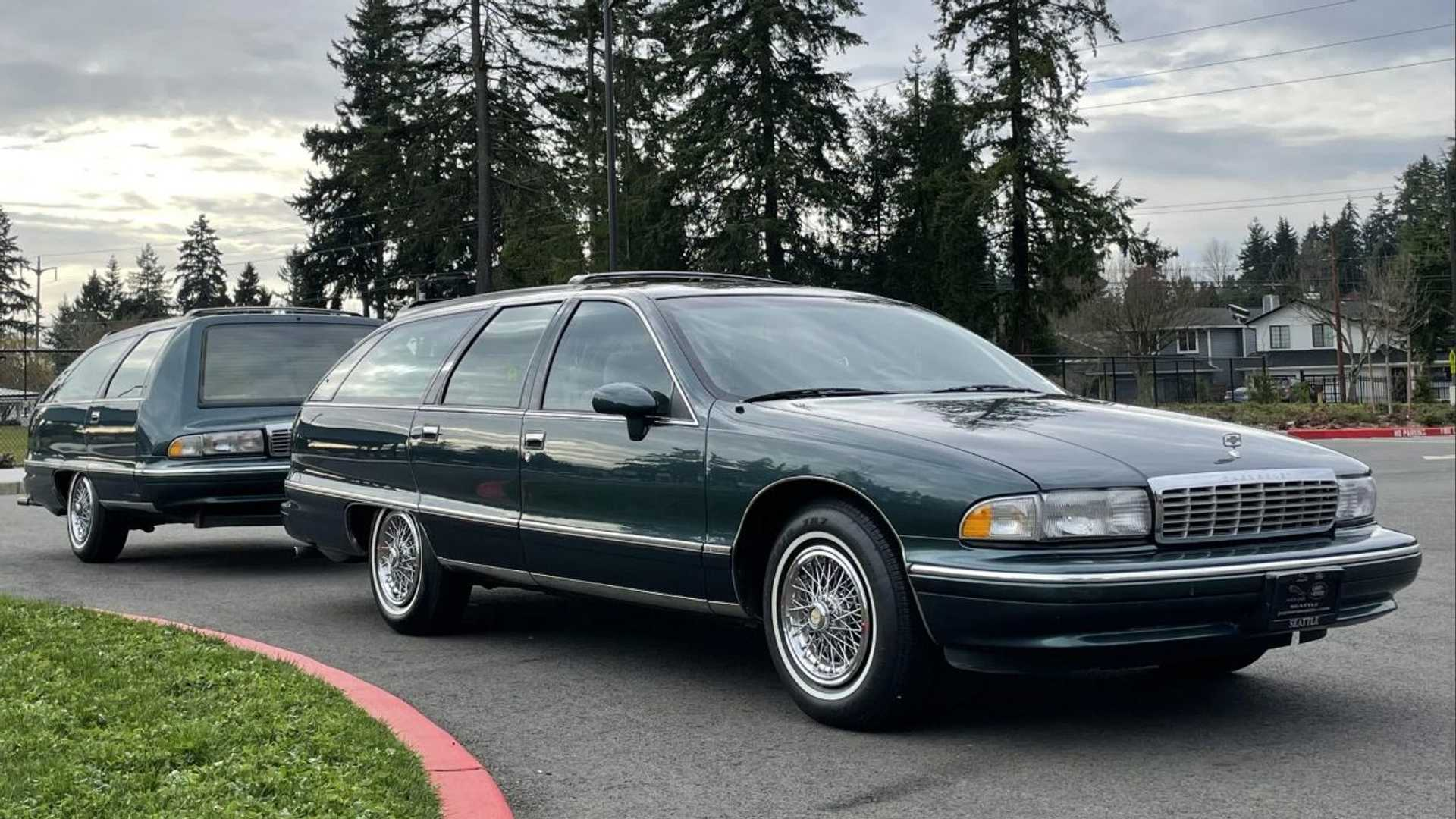 Buy This Chevy Caprice Wagon With Matching Trailer Rule All Estates