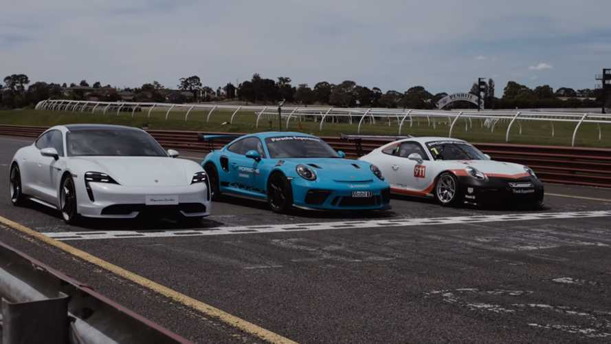 Porsche Taycan Turbo, Porsche 911 GT3 RS e Cup, la sfida in pista