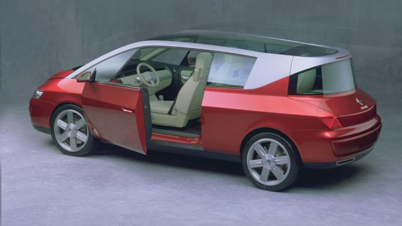 Концепт Renault Coupespace