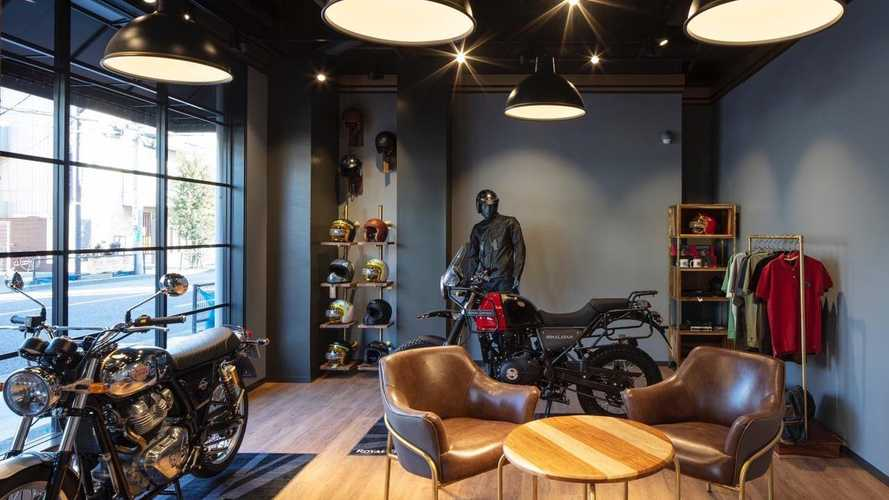 Royal Enfield Sets Up Shop In Japan With First Standalone Store