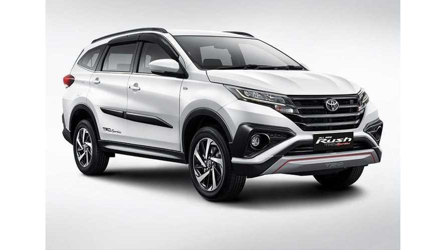 Deretan Fitur Canggih Interior Toyota Rush