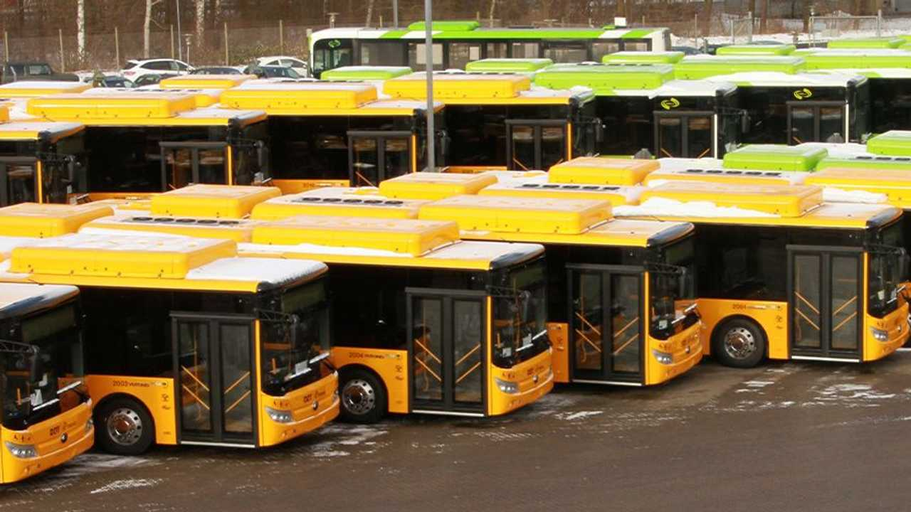 Yutong delivers 55 electric buses in Denmark (source: Keolis)