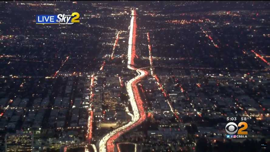 This View Of Thanksgiving Traffic In L.A. Is Unbelievably Depressing