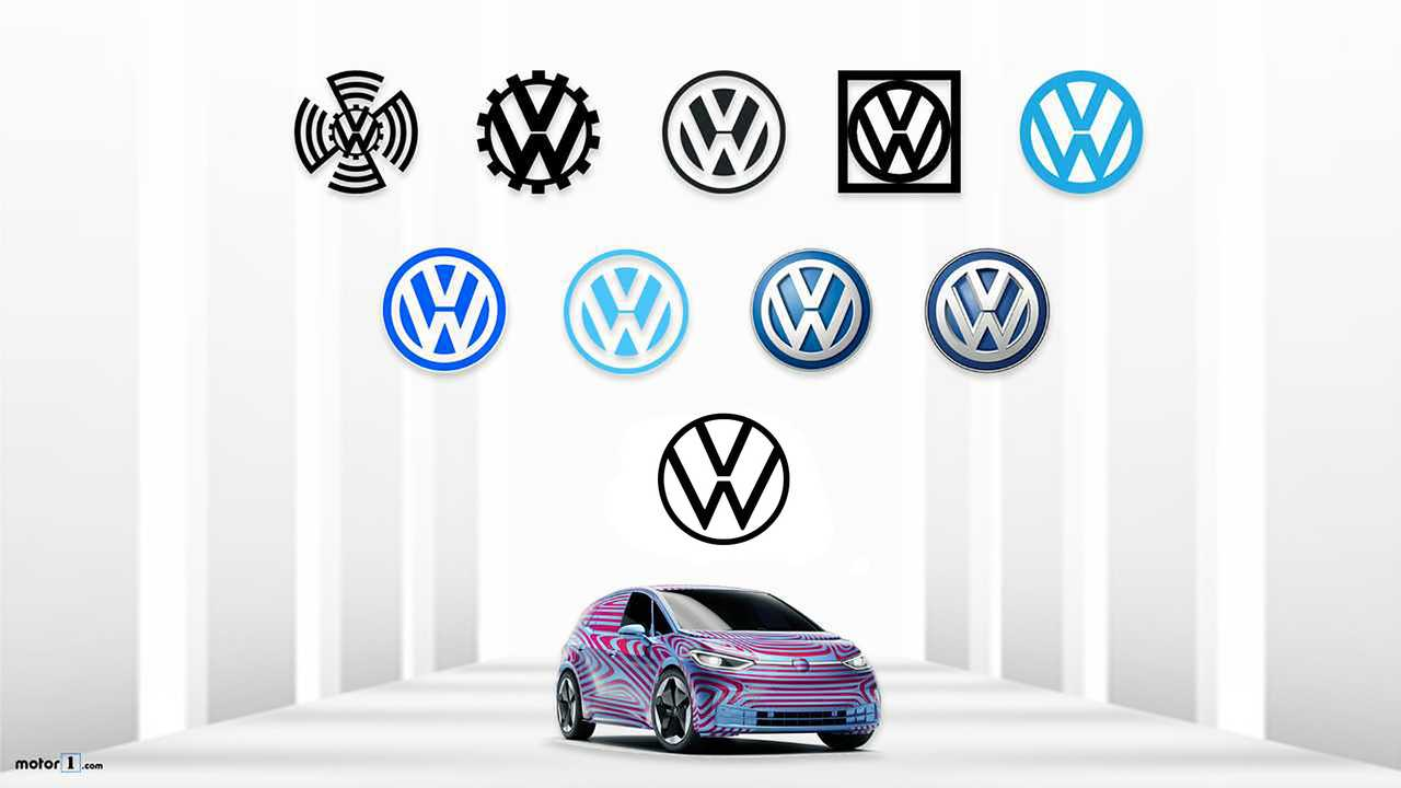 Resultat d'imatges de volkswagen logo evolution