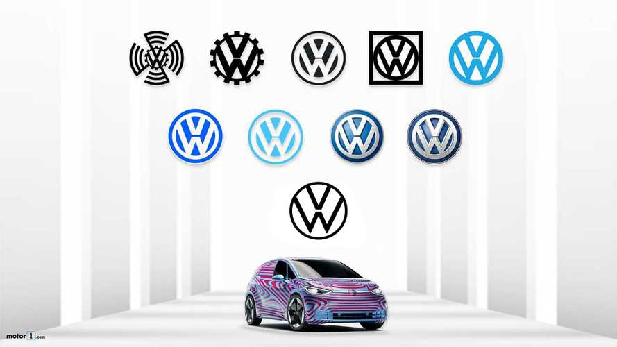 The History Of The VW Logo From 1937 To Today