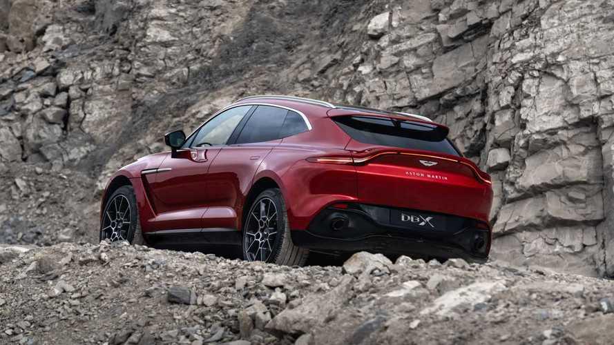 Aston Martin DBX - Un V12 et de l'hybride rechargeable au programme