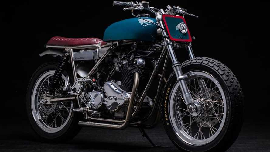This Norton Commando 850 Gets A French Face Lift