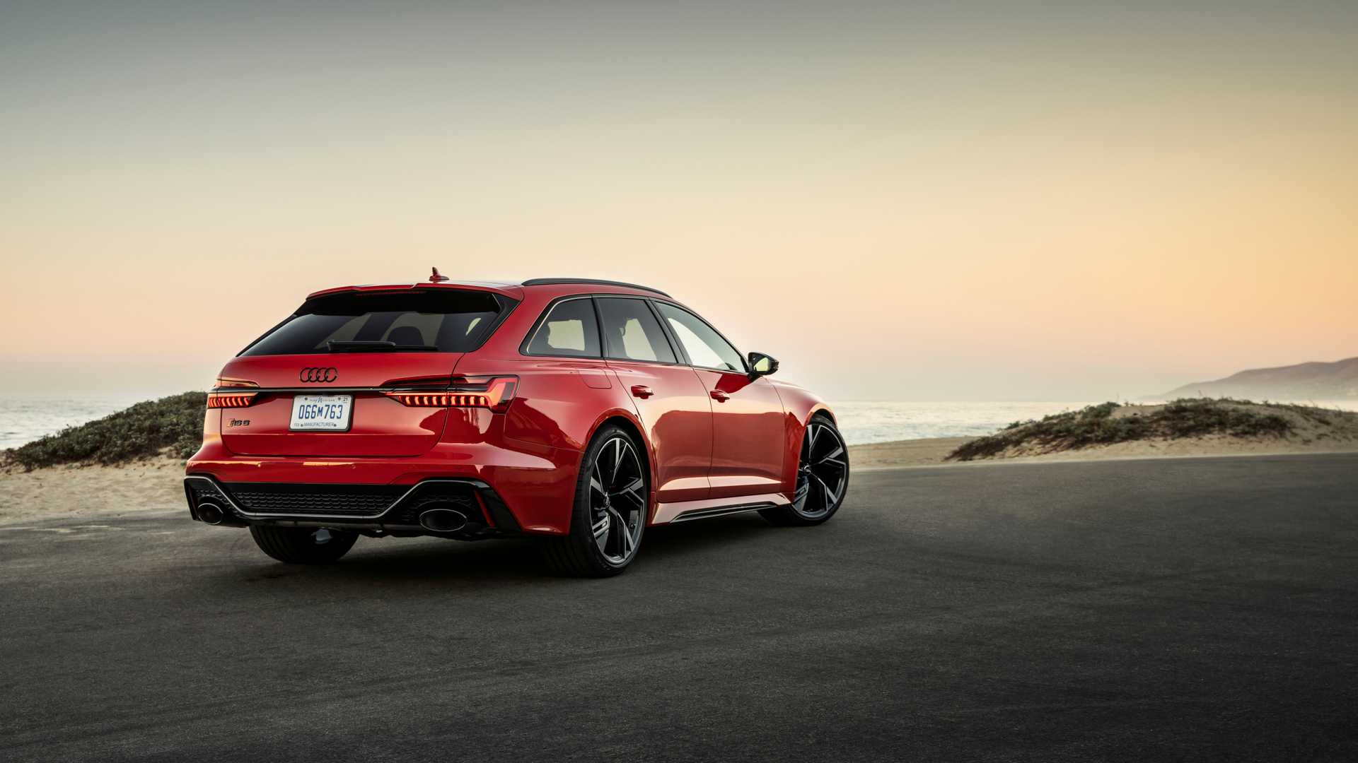 2021 audi rs6 avant first drive a wolf in wolf's clothing