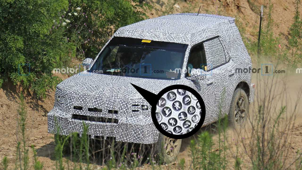 Look Closer At Ford 'Baby Bronco' Camo For A Surprise