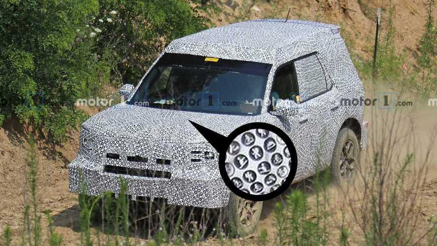 Ford, bebek Bronco prototipine bir sürpriz gizlemiş