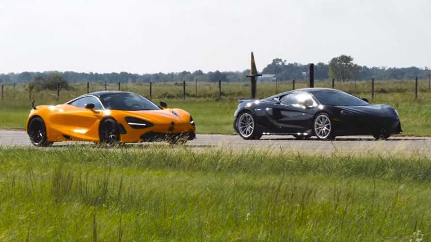 McLaren 720S vs. Hennessey 600LT: fabricante contra preparador (vídeo)