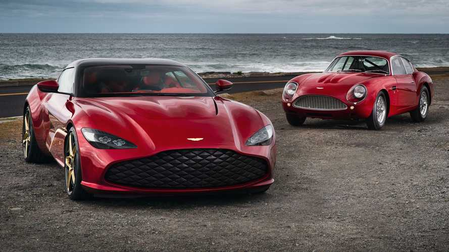 Aston Martin DBS GT Zagato makes public debut in stunning style
