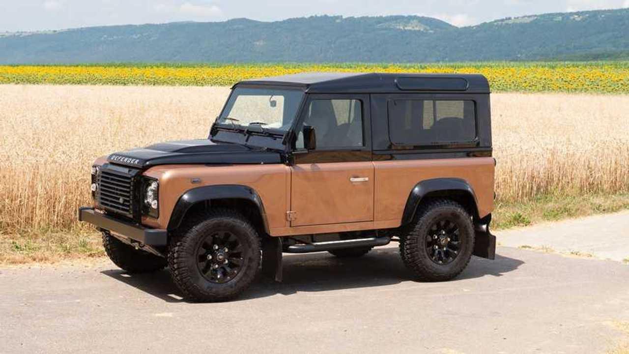 Land Rover Defender 90 Autobiography, subasta en RM Sotheby's