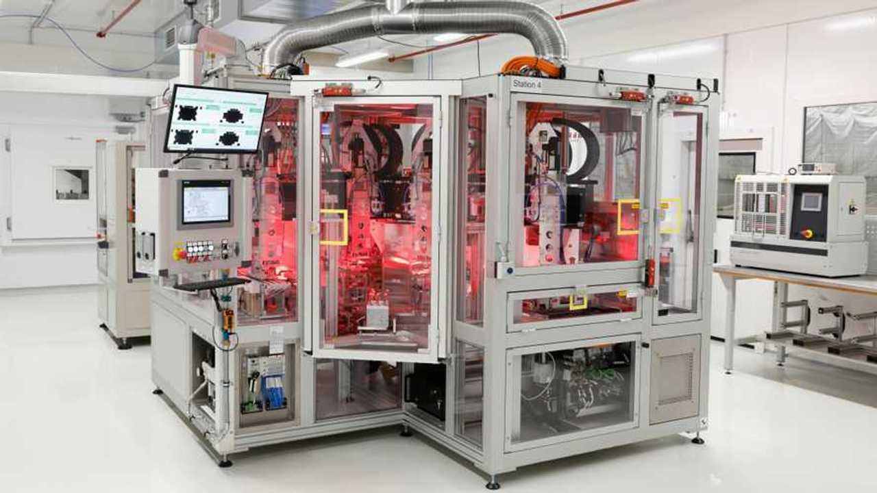 VW startet Batteriezellfertigung