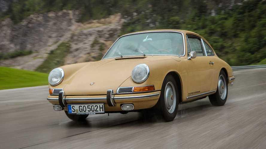 Zeitreise: Unterwegs im Porsche 911 von 1966