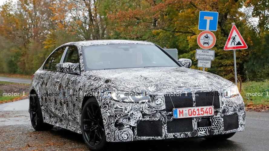 Yeni BMW M3 casus fotoğraflar