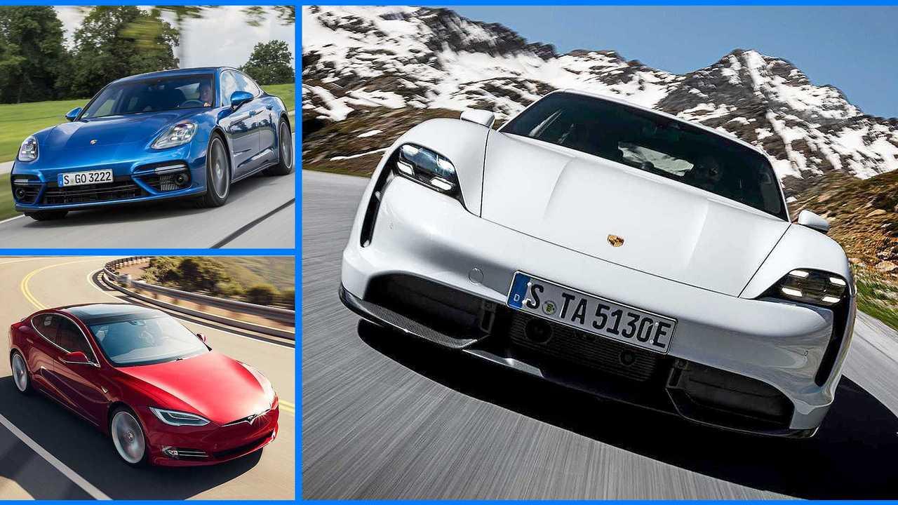 Porsche Taycan Konkurrenten