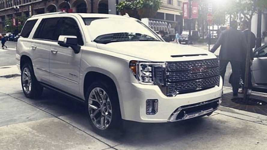 Is This The 2021 GMC Yukon Denali?