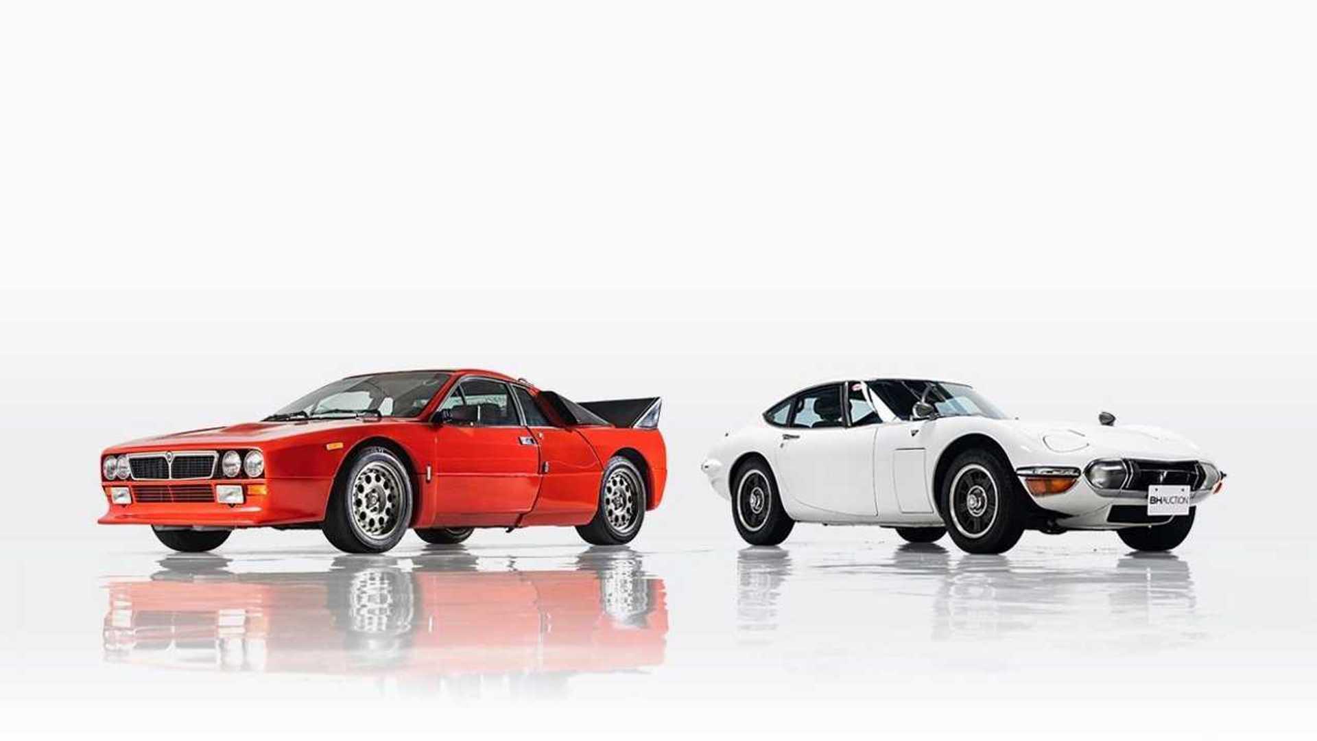 "[""Prototype Toyota 2000GT Headlines Rare Classic Car Auction In Tokyo""]"