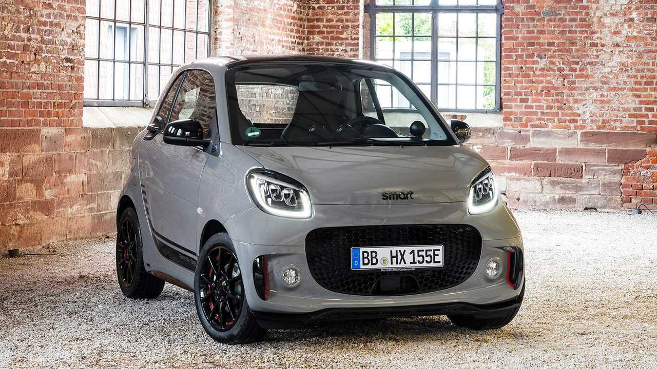 Smart EQ Fortwo Facelift