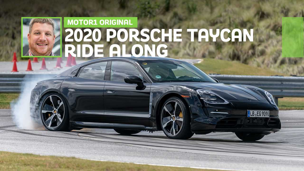 2020 Porsche Taycan Ride Along