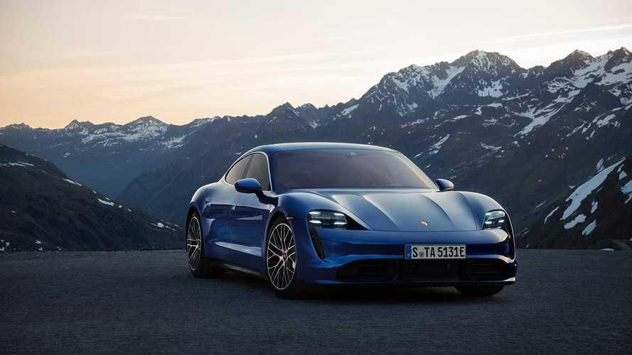 Объявлены российские цены на суперседан Porsche Taycan