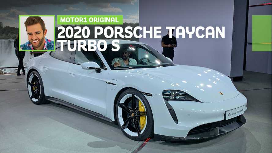 2020 Porsche Taycan Turbo First Look Video