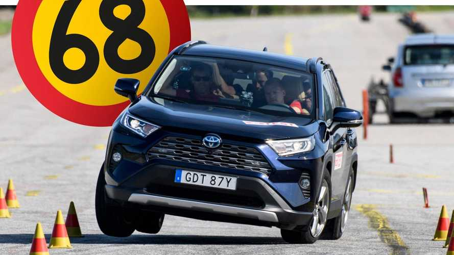 Toyota RAV4 fails Sweden's dreaded moose test, company responds