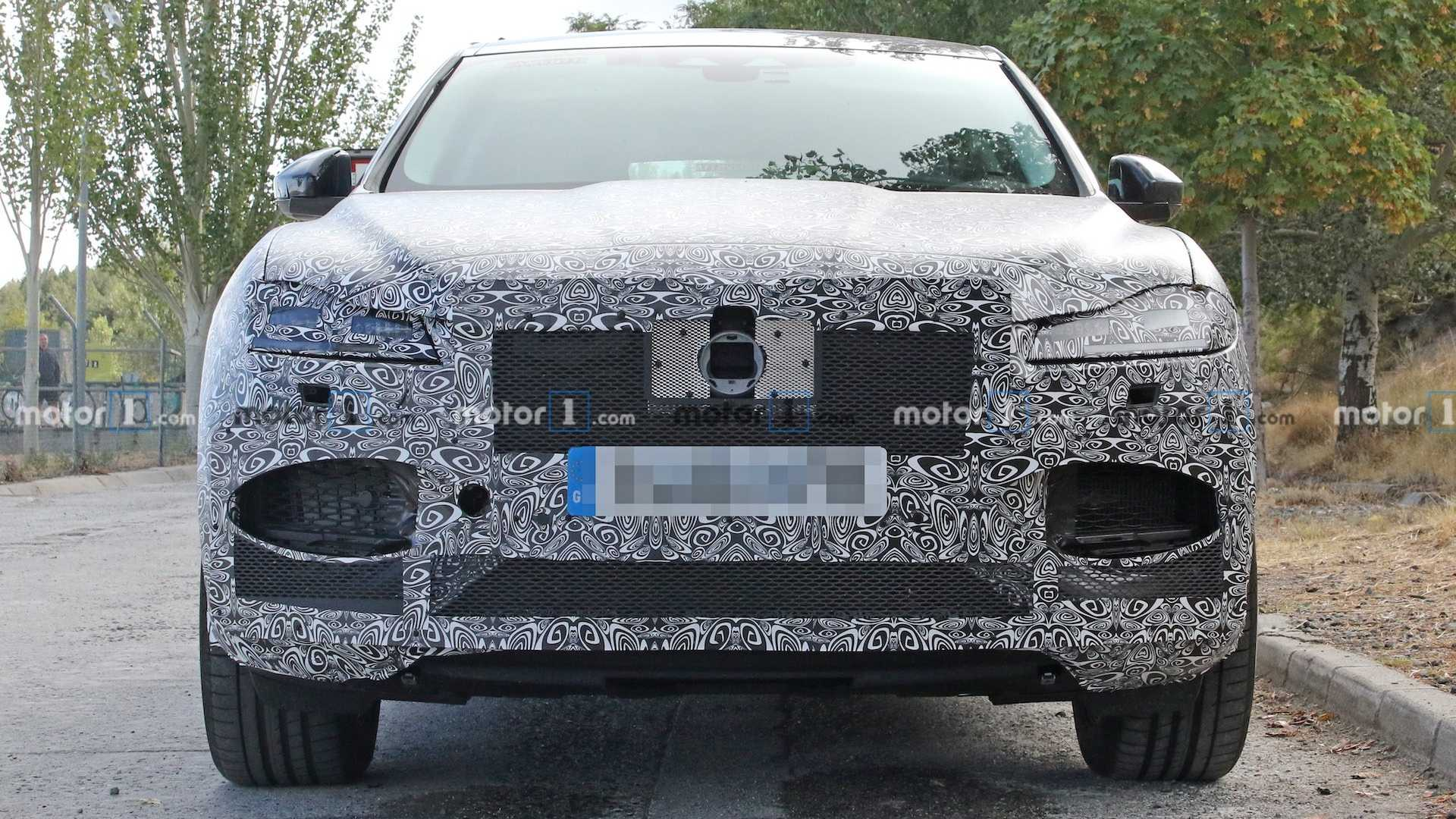 2020 Jaguar F-Pace Facelift 8