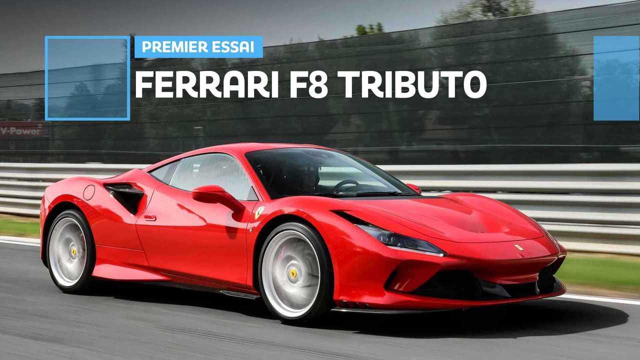 Essai Ferrari F8 Tributo (2019)