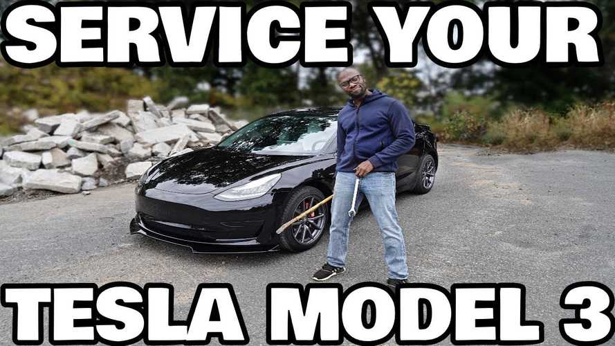 A Video Guide To The First Year Of Servicing Your Tesla Model 3