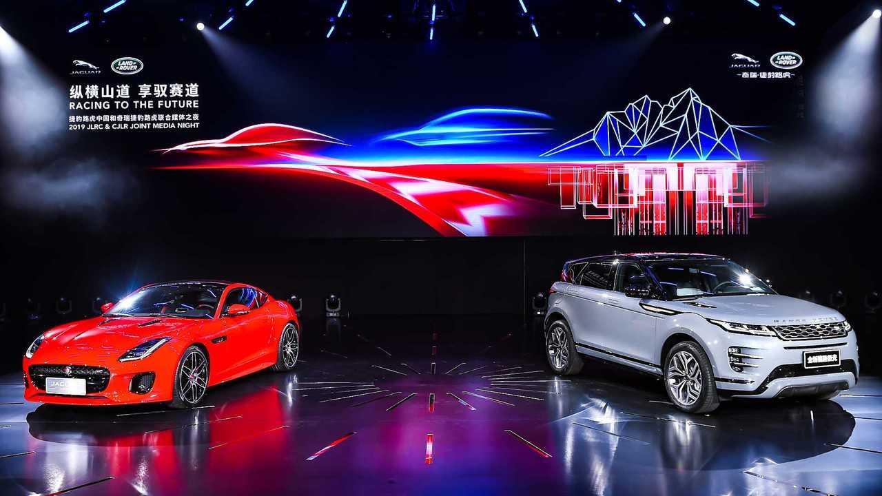 Jaguar Land rover Shanghai brand night