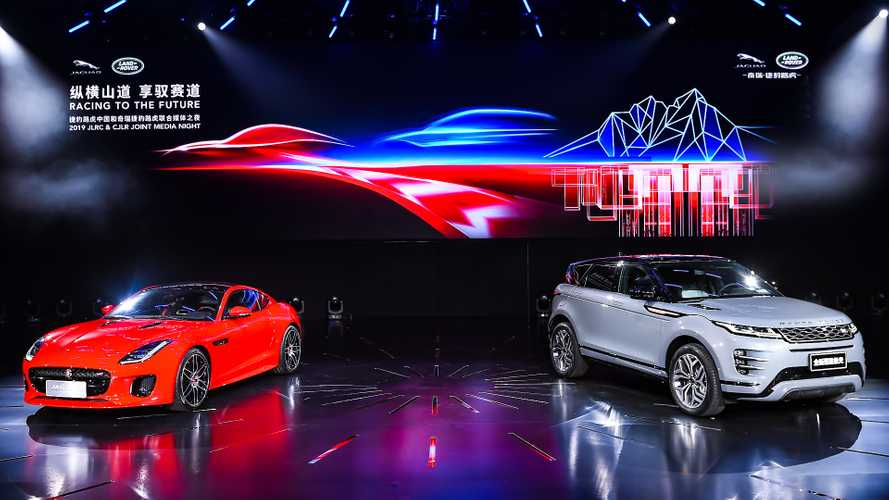 Jaguar Land Rover's sales in China are finally on the up