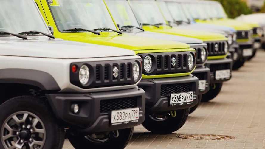 Первый российский тест Suzuki Jimny