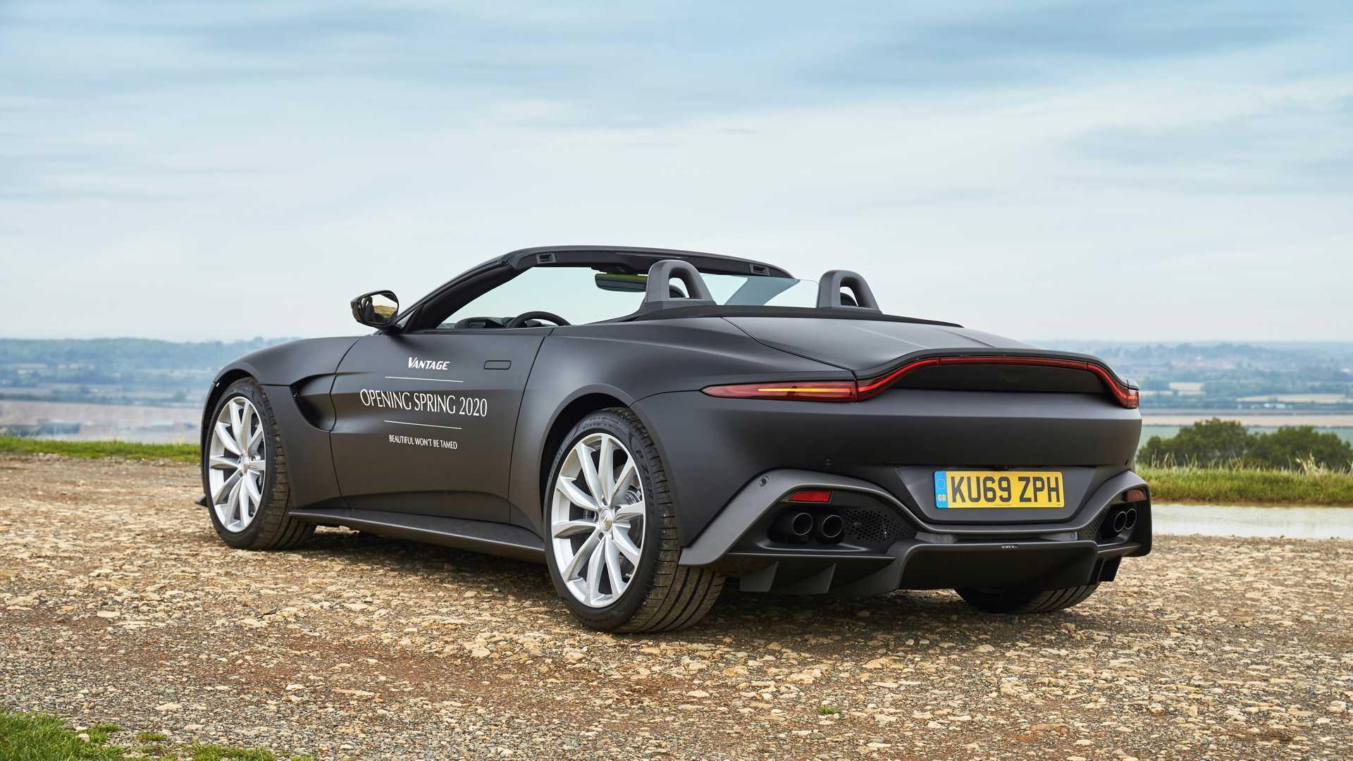 Aston Martin Vantage Roadster 2020 Erste Offizielle Bilder