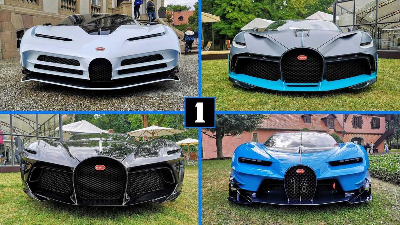 Bugatti montage