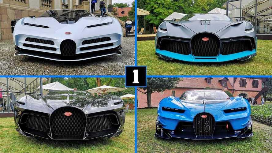 Посмотрите на крутейшие Bugatti на 110-летии марки