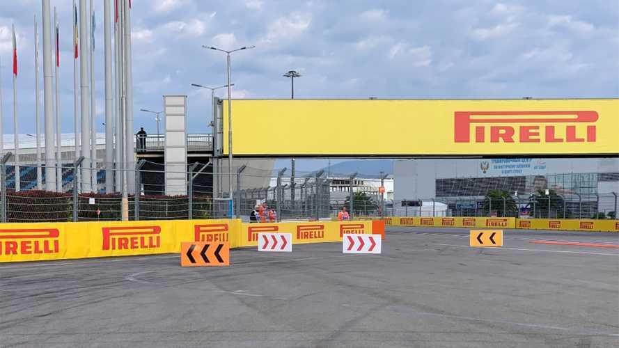 F1, una nuova soluzione per i track limits della curva 2 a Sochi