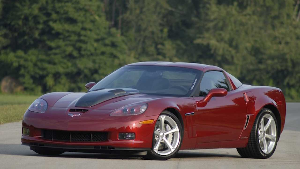 It's Haunting How Much This 275K 2010 Callway Corvette Is Listed For
