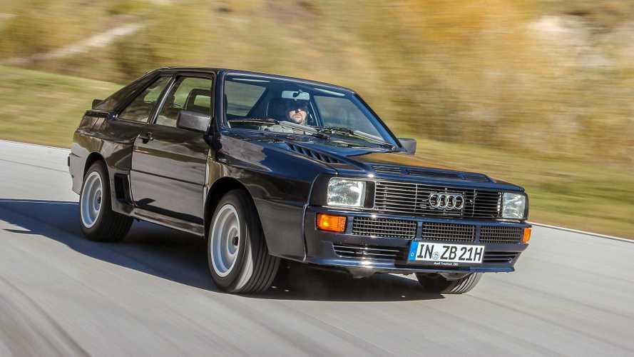 Zeitreise: Unterwegs im Audi Sport quattro von 1984