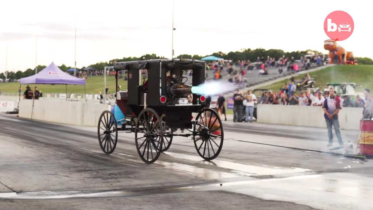 Sugárhajtású Amish Buggy