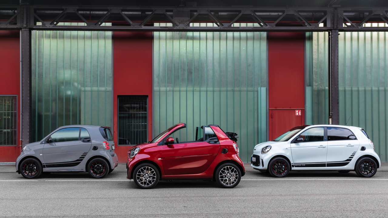 smart EQ fortwo e forfour