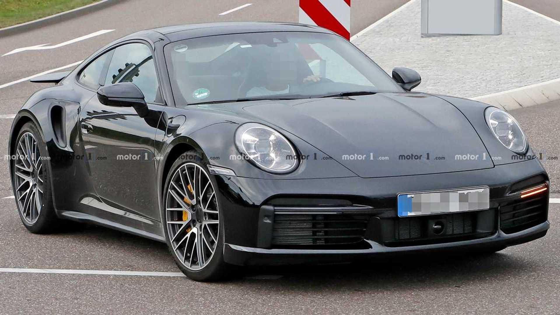 Porsche 911 Turbo Spied Nearly Undisguised In Best Photos Yet