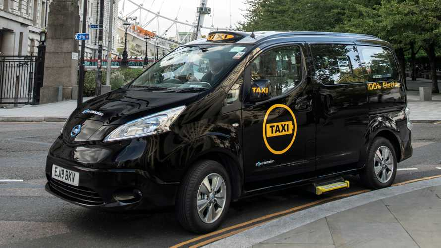 First All-Electric Taxi In London In 120 Years Takes To The Streets