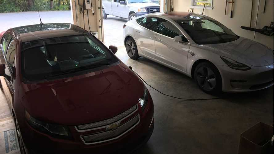 What Do I Drive? A 2012 Chevy Volt And A Tesla Model 3 And Here's Why
